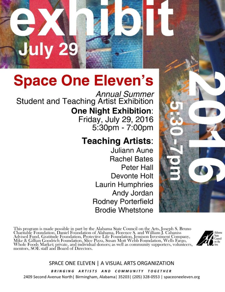 Student Teaching Artist Exhibition
